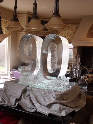 Ice Sculptors in Oakville Ontario by Festive Ice Sculptures