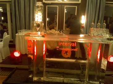 Ice Bar Sculpture London Ontario by Festive Ice Sculptures