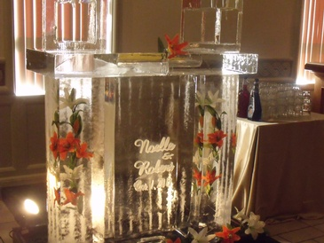 Ice Bar Sculpture Oakville by Festive Ice Sculptures