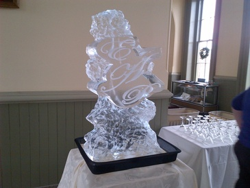 Best Ice Luge Sculpture by Festive Ice Sculptures in Windsor Ontario