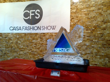 Corporate Ice Logos Hamilton by Festive Ice Sculptures