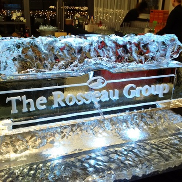 Corporate Ice Logos North York by Festive Ice Sculptures