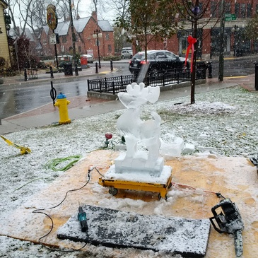 Ice Sculpting Company London - Festive Ice Sculptures