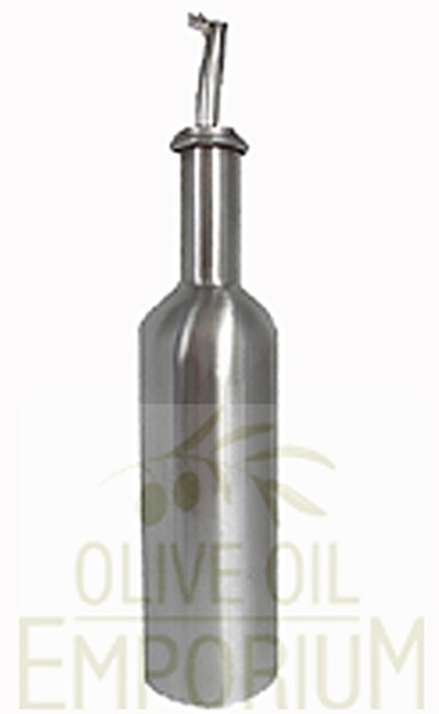 Olive Oil Dispenser - Stainless Steel - 250ml with Spout
