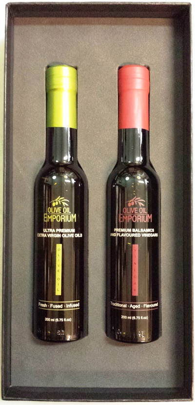 Gourmet Gift Duo - Olive Oil and Balsamic Vinegar Gift Set