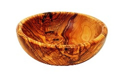 Large Family Size Salad Bowl-Olive Wood