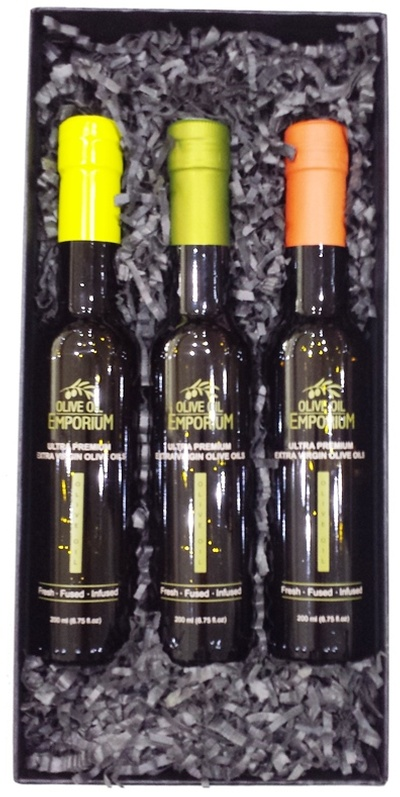 Citrus Trio - Citrus Flavoured Olive Oil Gift Set