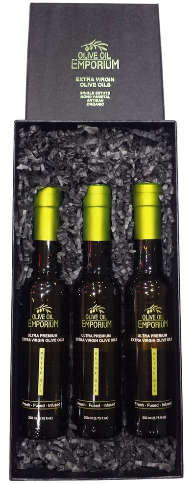 Hot and Spicy Trio - Flavoured Olive Oil Gift Set