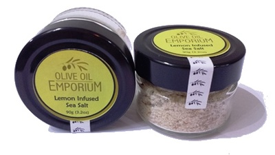 Lemon Infused Sea Salt