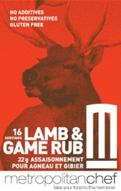 Lamb and Game Rub