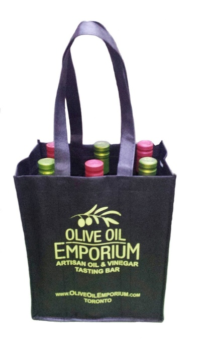 Olive Oil Emporium Six Bottle Tote