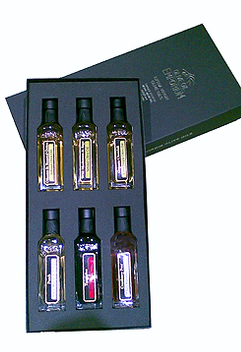 Salad Sampler - Gourmet Olive Oil and Vinegar Gift Set