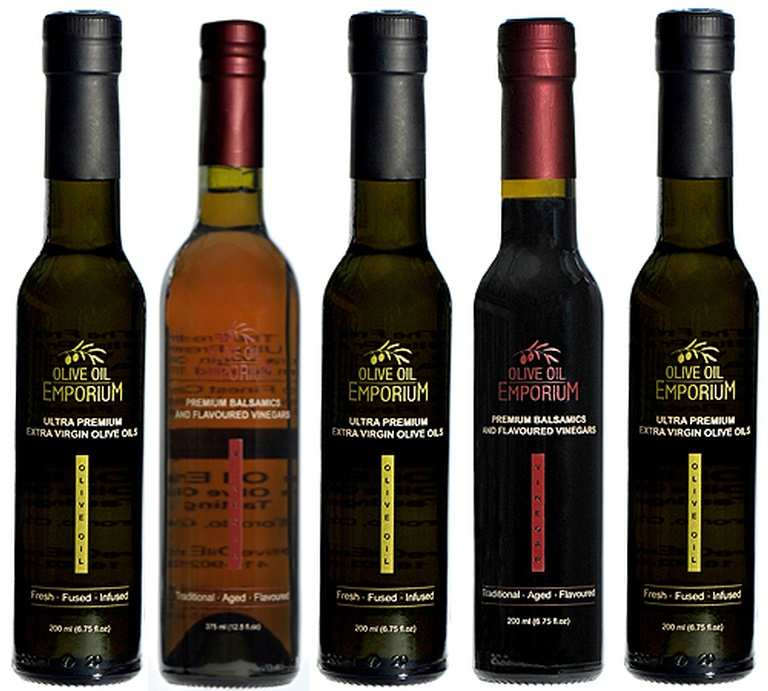 Everything Citrus Gift Set - Flavoured Olive Oils and Vinegars