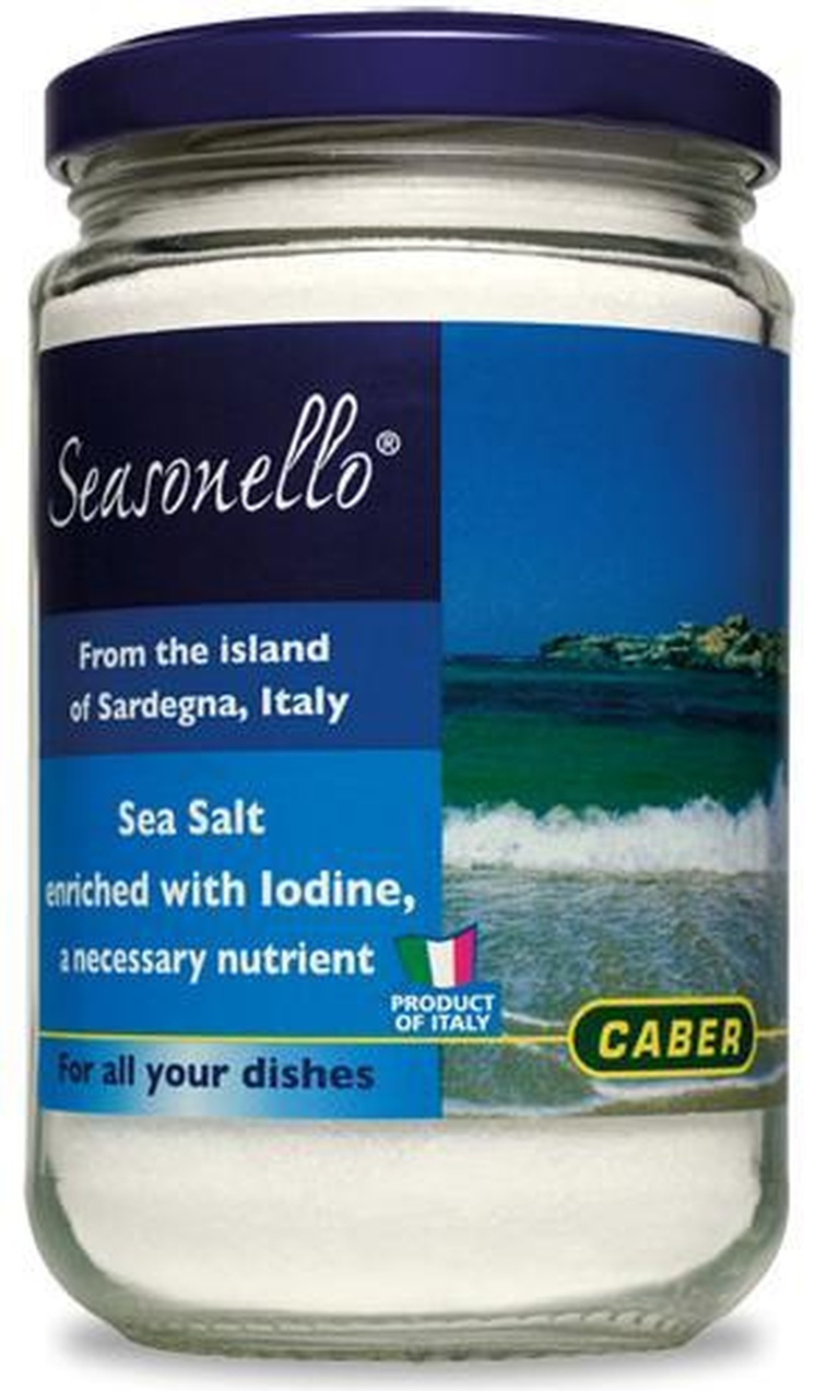 Sea Salt, Iodized - Seasonello
