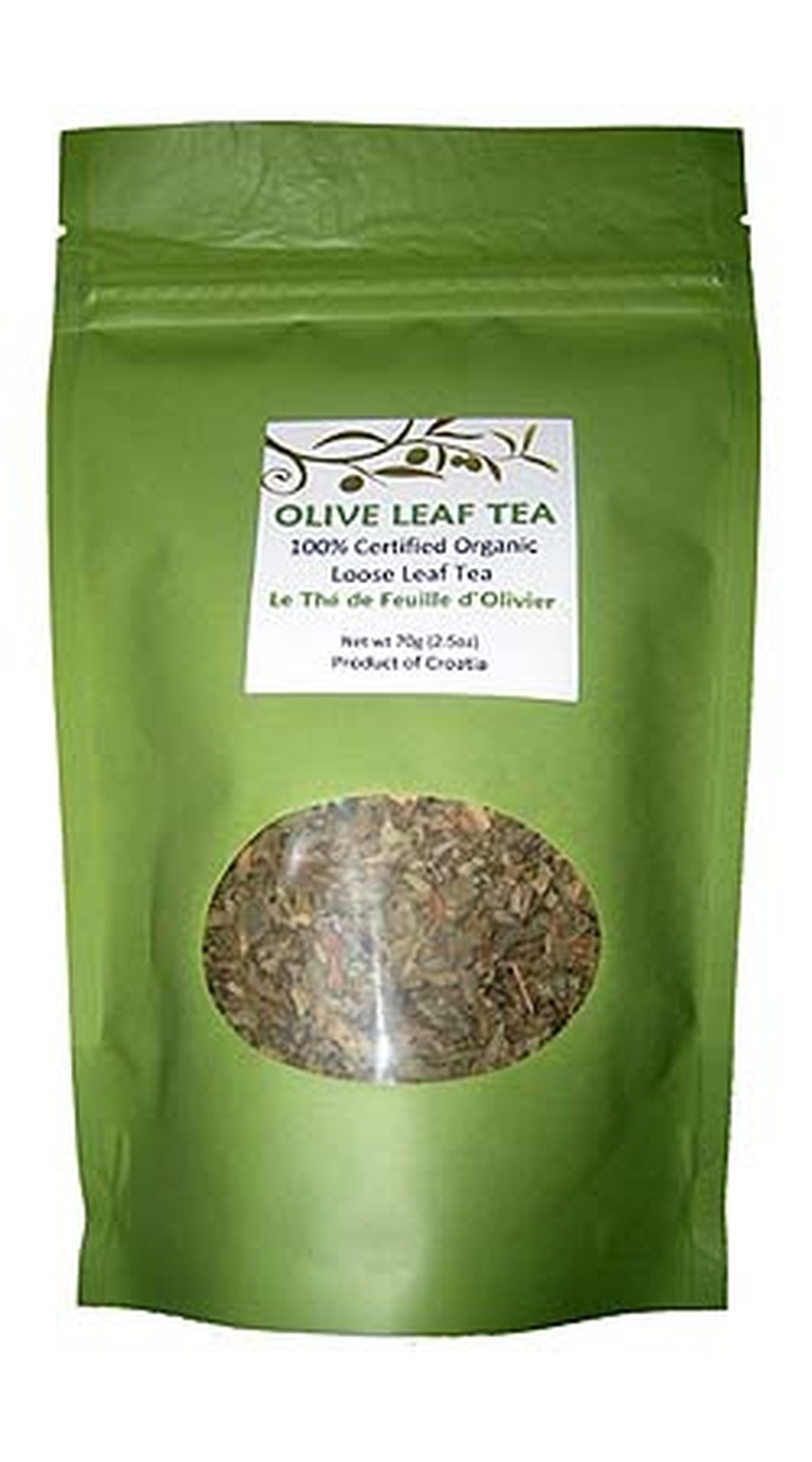 Olive Leaf Tea - Loose Leaf - Organic