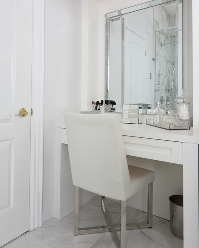 Dressing Area - Bathroom Renovations in Thornhill by Royal Interior Design Ltd