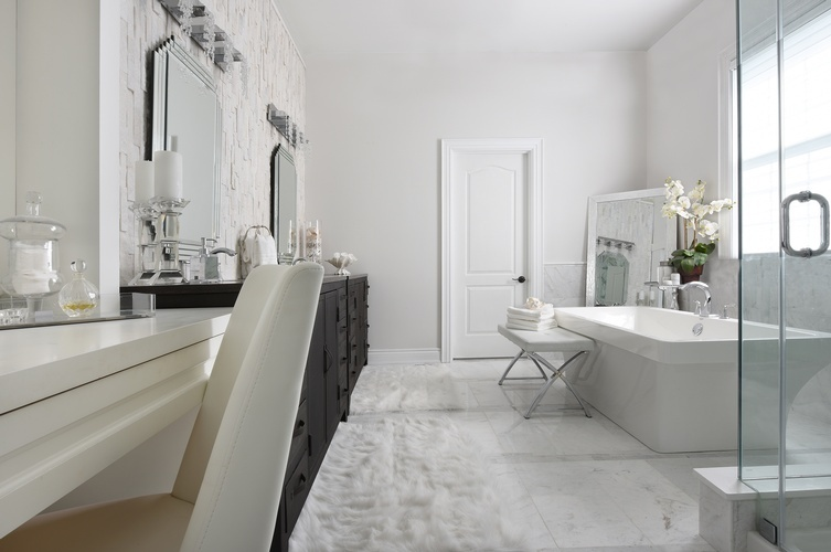 Luxurious Bathroom Renovations in Newmarket by Royal Interior Design Ltd