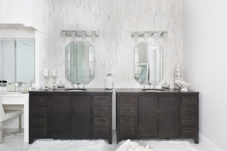 Stylish Bathroom Vanity Units - Bathroom Renovations in Stouffville by Royal Interior Design Ltd