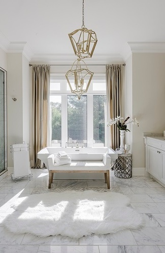 Luxurious Bathroom Renovation Whitby ON by Royal Interior Design Ltd
