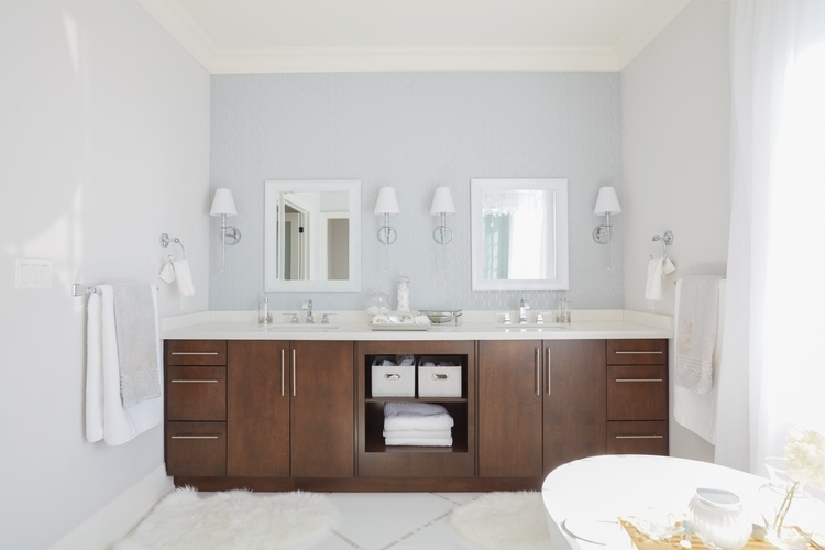 Custom Bathroom Vanity Cabinets - Bathroom Renovation Whitby by Royal Interior Design Ltd