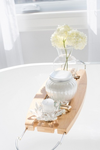 Bathtub Tray - Bathroom Decor Aurora Ontario by Royal Interior Design Ltd