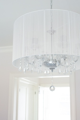 Crystal Glass Chandelier - Bedroom Decor Whitby by Royal Interior Design Ltd