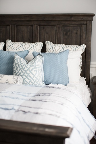 Throw Pillows on Bed - Bedroom Renovation Services Vaughan by Royal Interior Design Ltd