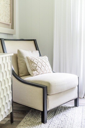 Accent Chair with Pillows - Bedroom Renovations King City by Royal Interior Design Ltd