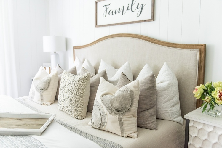 Well Arranged Bed Pillows - Bedroom Decoration Service Stouffville by Royal Interior Design Ltd