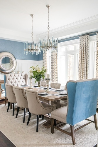 Dining Room Renovation Richmond Hill by Royal Interior Design Ltd