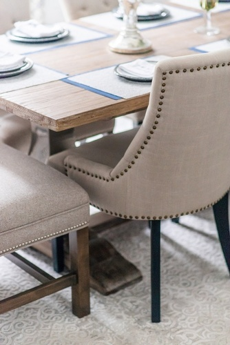 Modern Dining Chair - Dining Room Renovations GTA by Royal Interior Design Ltd