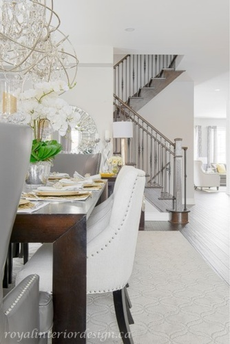 Dining Room Decorating Services Richmond Hill by Royal Interior Design Ltd
