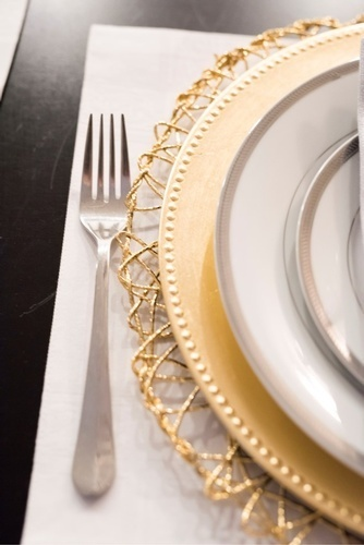 Plates on Table - Dining Room Decorating Services Thornhill by Royal Interior Design Ltd