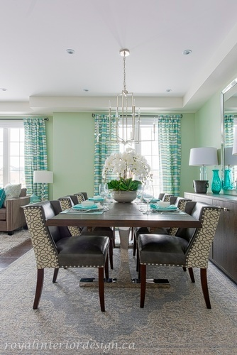 Luxury Dining Room Renovations Richmond Hill by Royal Interior Design Ltd
