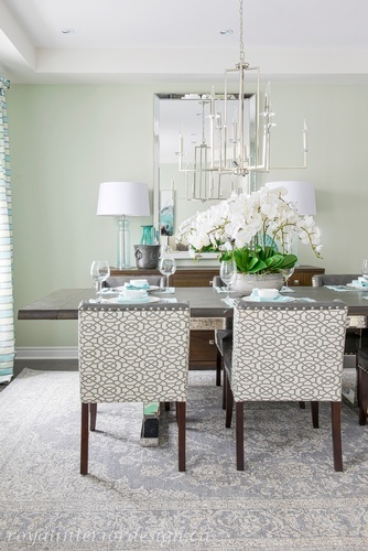 Modern Dining Space - Dining Room Renovations Stouffville by Royal Interior Design Ltd