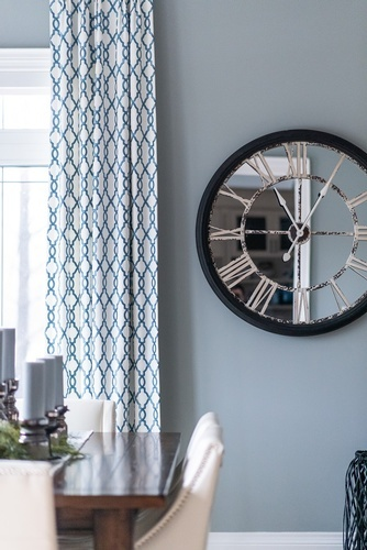 Analog Clock on Wall - Kitchen Renovation Thornhill by Royal Interior Design Ltd
