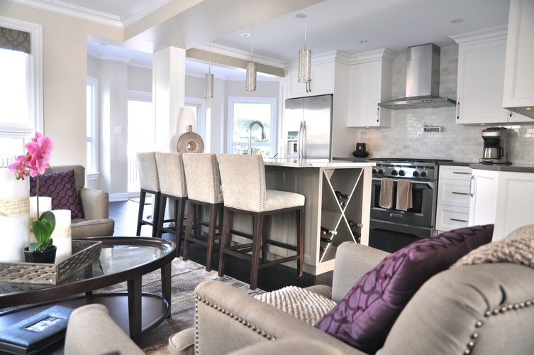 Luxury Kitchen Renovations Stouffville by Royal Interior Design Ltd