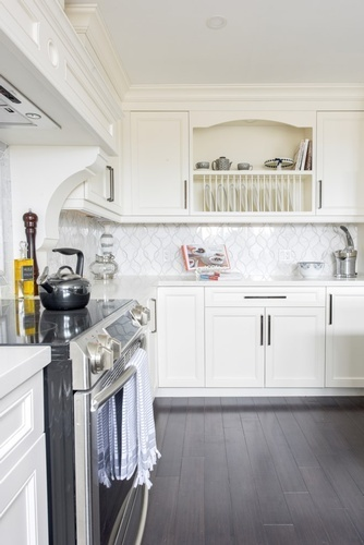 White Kitchen Cabinets - Renovation Services Newmarket by Royal Interior Design Ltd