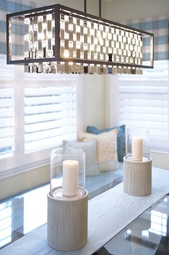 Luxury Chandelier - Kitchen Renovations Whitby by Royal Interior Design Ltd