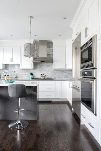 Custom Kitchen Cabinets - Whitby Kitchen Renovations by Royal Interior Design Ltd