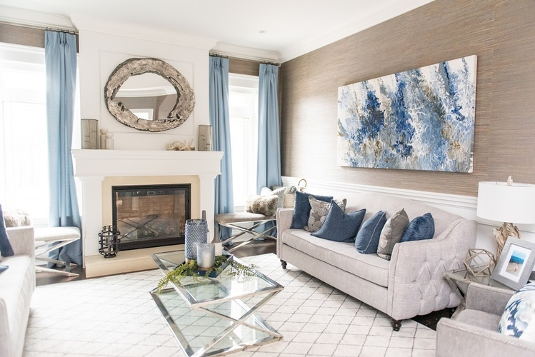 Classy Living Space Renovation Services Vaughan by Royal Interior Design Ltd