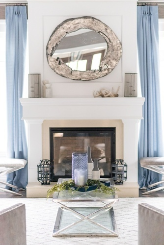 Hearth - Living Space Decorating Services Thornhill ON by Royal Interior Design Ltd