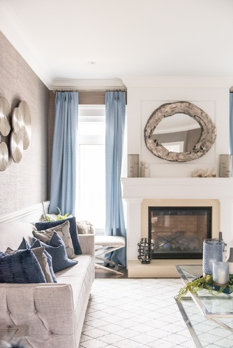 Hearth - Thornhill Living Space Renovations by Royal Interior Design Ltd