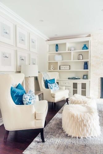 Entertainment Center - Living Space Renovations Aurora by Royal Interior Design Ltd