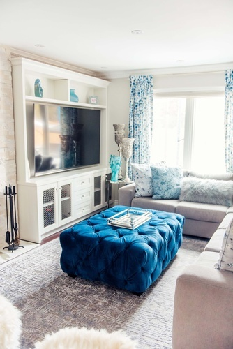 Living Space Decorating Services Vaughan by Royal Interior Design Ltd