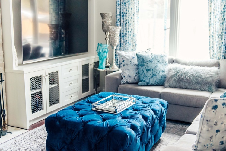 Luxury Living Room Furniture - Living Space Decor Markham by Royal Interior Design Ltd