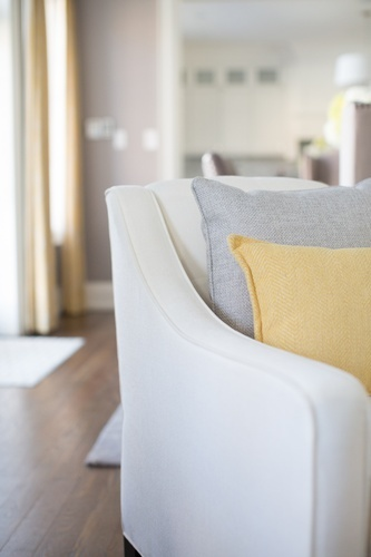 Accent Chair - Living Space Renovations GTA by Royal Interior Design Ltd