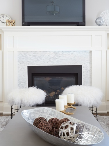 Hearth - Living Space Renovations GTA by Royal Interior Design Ltd