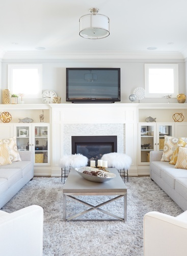 Living Space Decorating Services Thornhill ON by Royal Interior Design Ltd