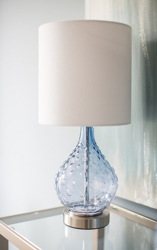 Decorative Table Lamp Shade - Markham Living Space Renovations by Royal Interior Design Ltd